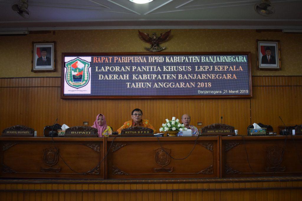 Laporan Panitia Khusus DPRD terhadap LKPJ Kepala Daerah