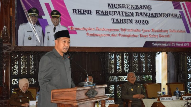 MUSRENBANG RKPD Kabupaten Banjarnegara Tahun 2020