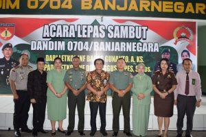Pisah Sambut Dandim 0704 Banjarnegara
