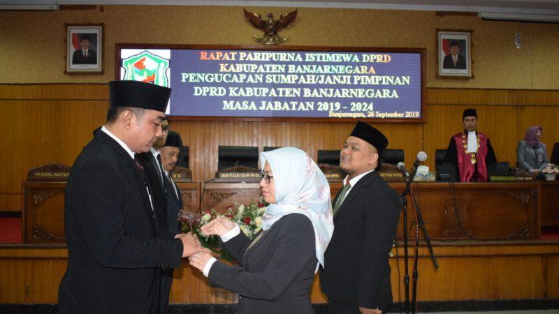 Pimpinan Definitif DPRD Masa Jabatan 2019-2024 Resmi Dilantik
